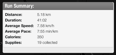 7.58 km/hour? Serious? Wheee!!!